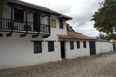 Arquitectura típica de casas en Villa de Leyva