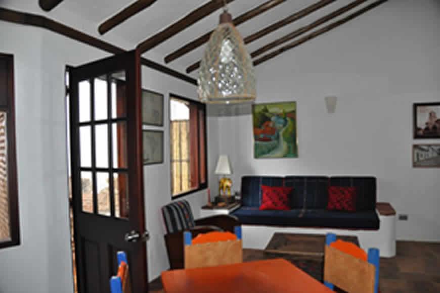 Sala Casa de las Aguas 1 en Villa de Leyva