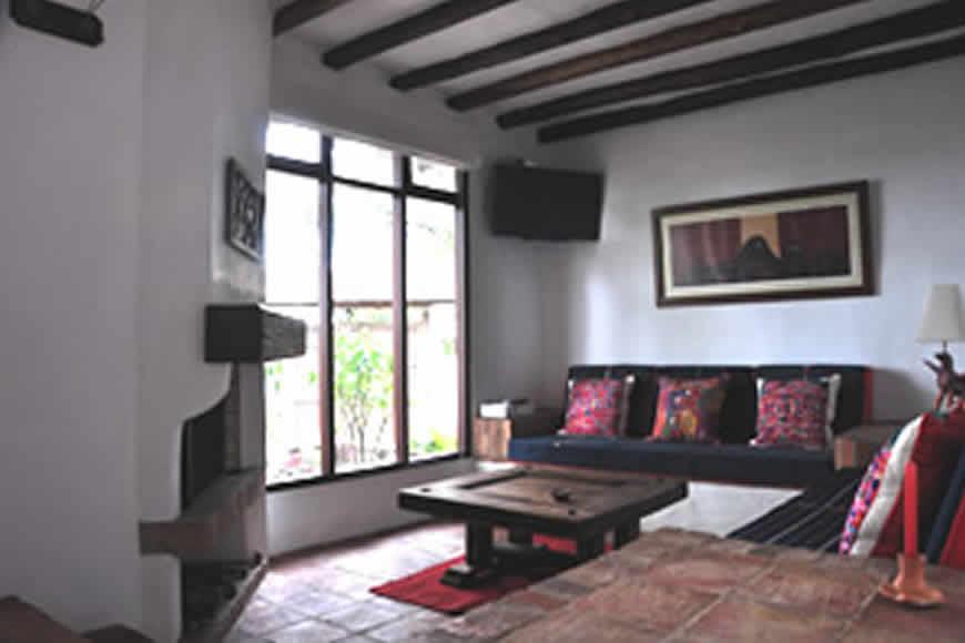sala Casa de las Aguas 2 en Villa de Leyva