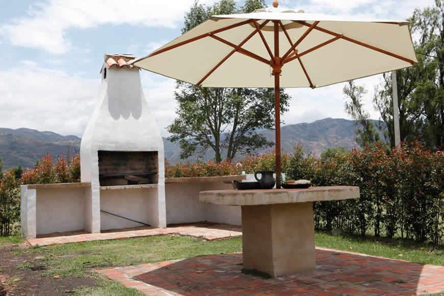 BBQ casa San Agustín en Villa de Leyva
