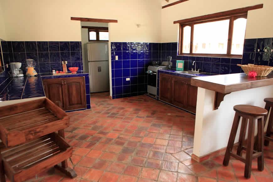 Cocina casa San Agustín en Villa de Leyva