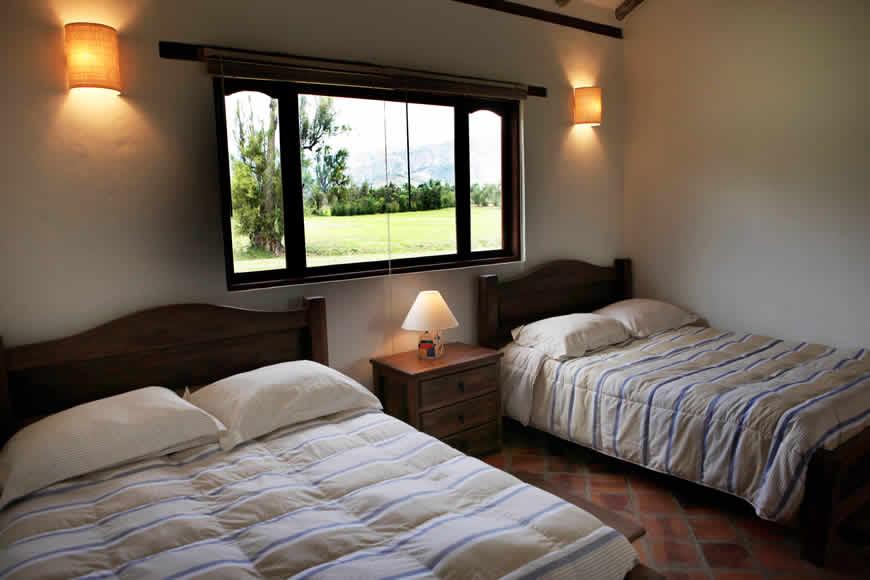 Habitación 2 casa San Agustín en Villa de Leyva