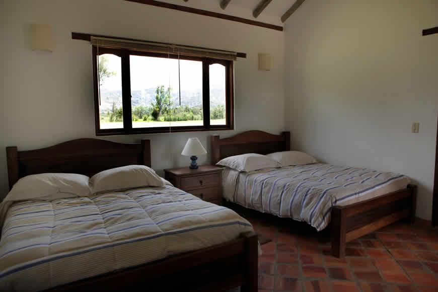 Habitación principal casa San Agustín Villa de Leyva