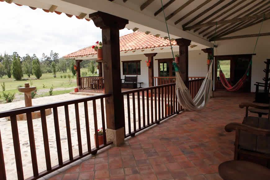 hamacas casa san agustín en villa de leyva