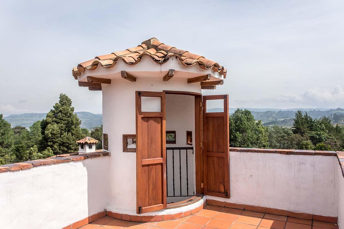 Alquilar finca La Toscana en Villa de Leyva - Mirador