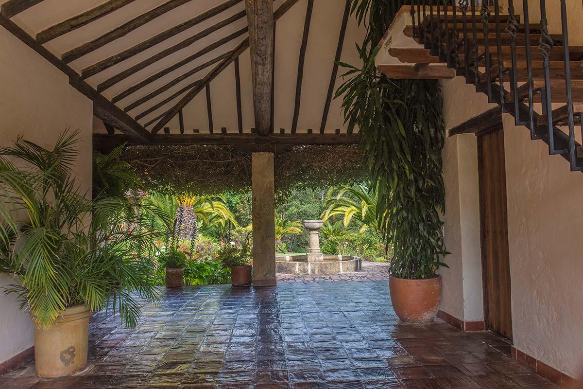 Alquilar finca La Toscana en Villa de Leyva - Entrada principal
