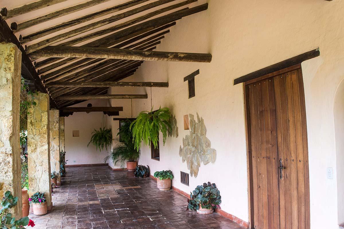 Alquilar finca La Toscana en Villa de Leyva - Pasillo
