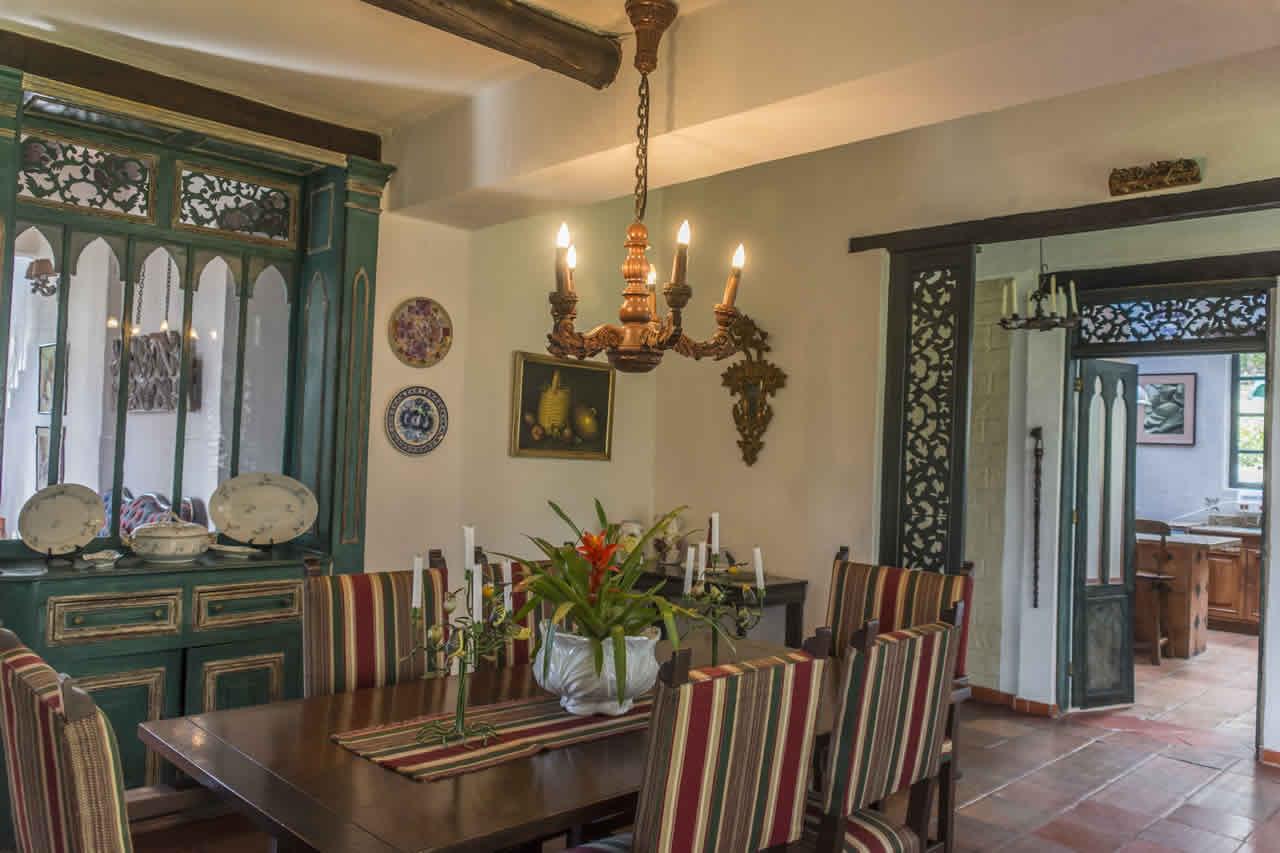 Casa Acanday para alquilar en Villa de Leyva - Comedor