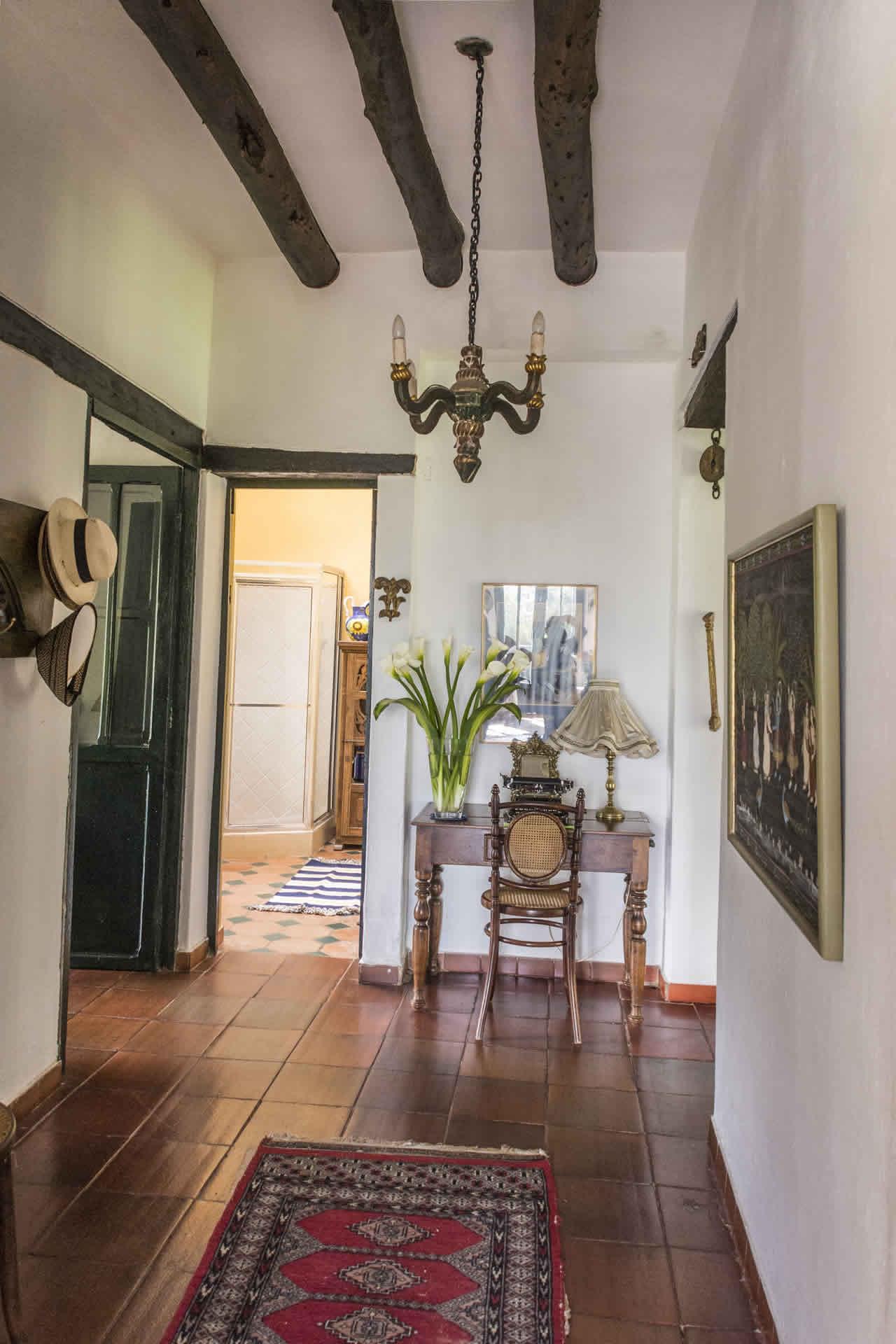 Casa Acanday para alquilar en Villa de Leyva - Pasillo