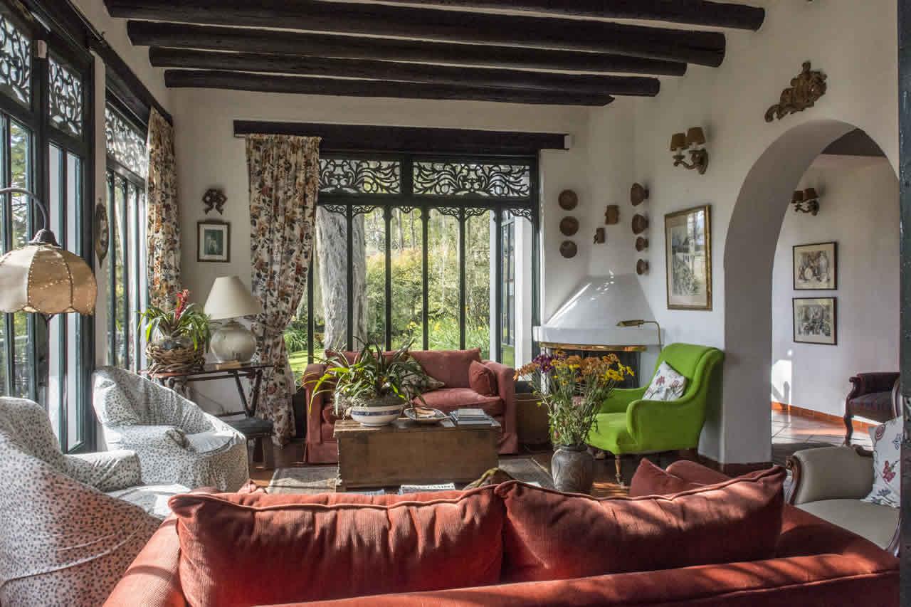 Casa Acanday para alquilar en Villa de Leyva - Sala 1