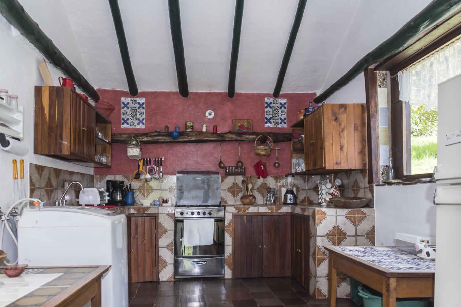 Alquiler casa Pozo Azul en Villa de Leyva - Cocina