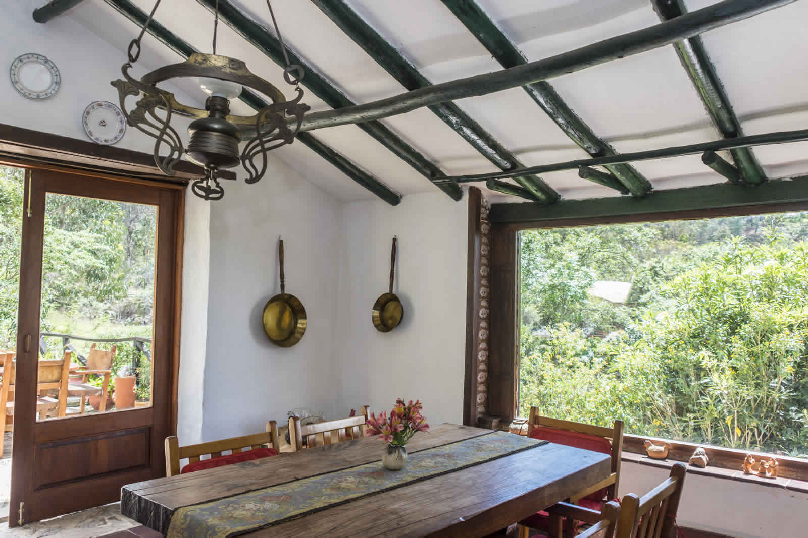 Alquiler casa Pozo Azul en Villa de Leyva - Comedor