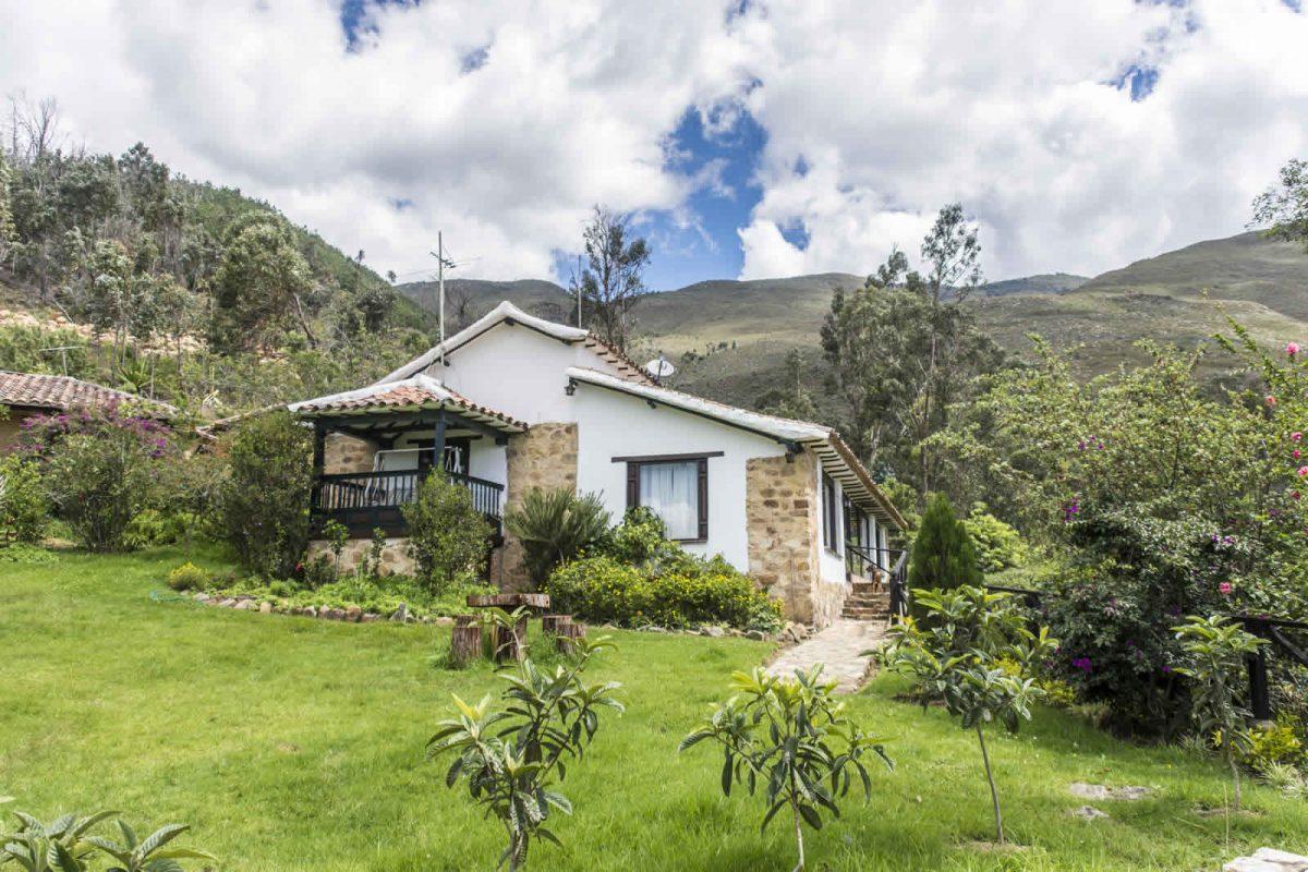 Alquiler casa Pozo Azul en Villa de Leyva - Fachada