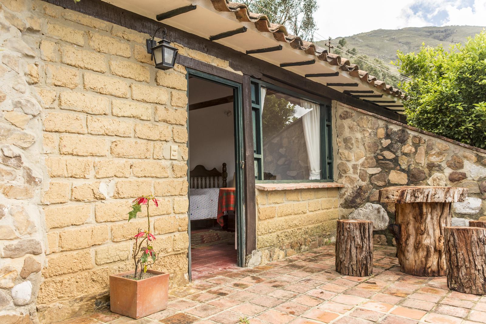 Alquiler casa Pozo Azul en Villa de Leyva - Entrada Habitación 4