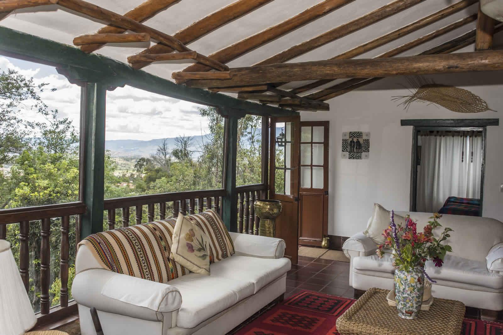 Alquiler casa Pozo Azul en Villa de Leyva - Sala