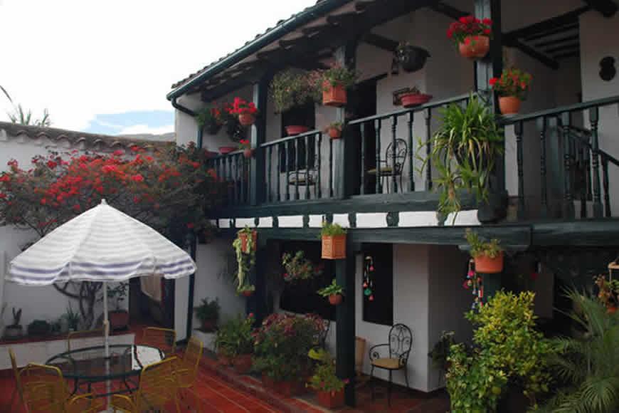 balcón casa villa diego en Villa de Leyva