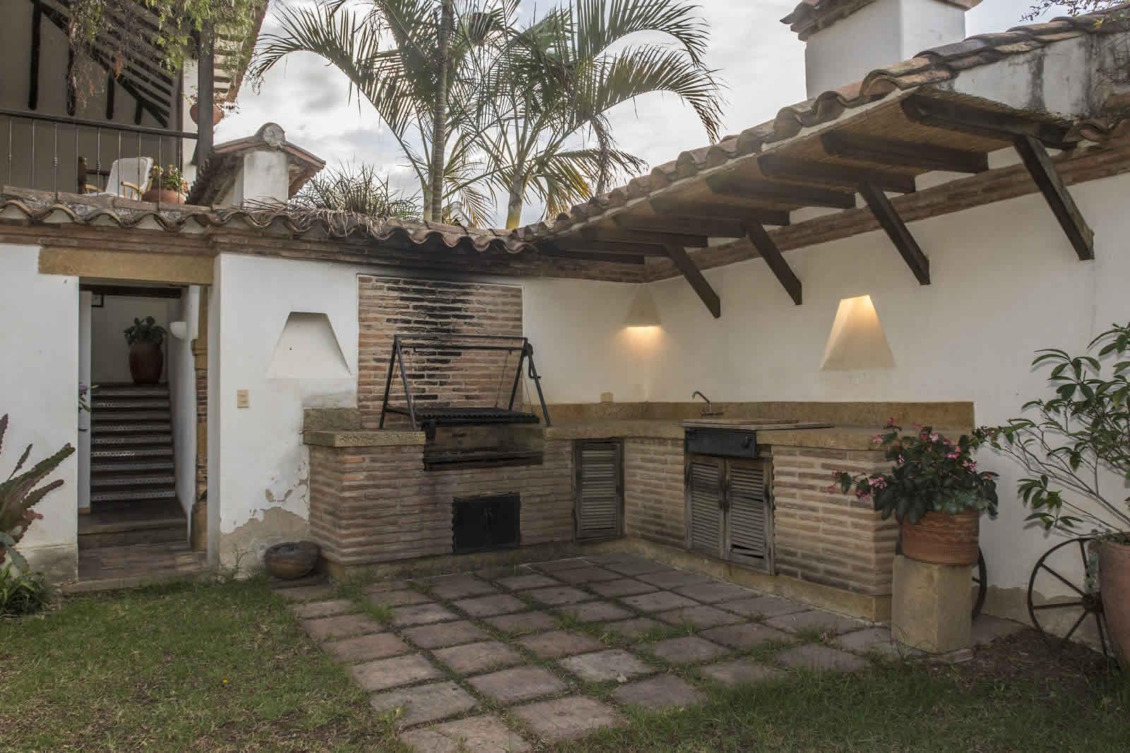 BBQ casa oasis alquiler villa de leyva