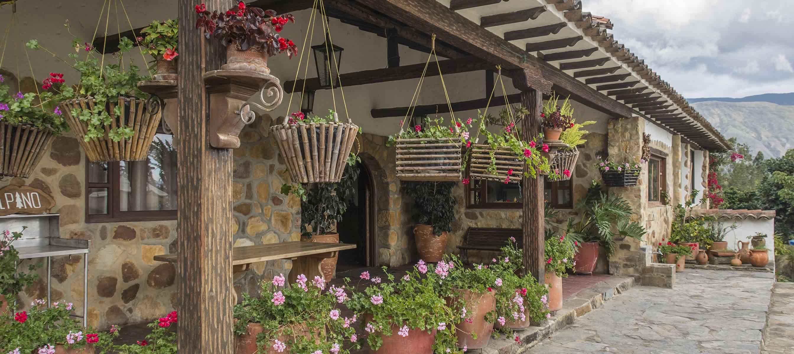 El Pino casa para para alquiler en Villa de Leyva