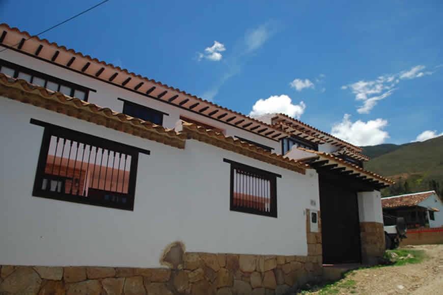 Alquiler casa rosa en Villa de Leyva