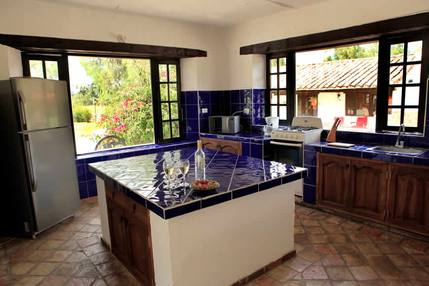 Cocina casa vieja Villa de Leyva