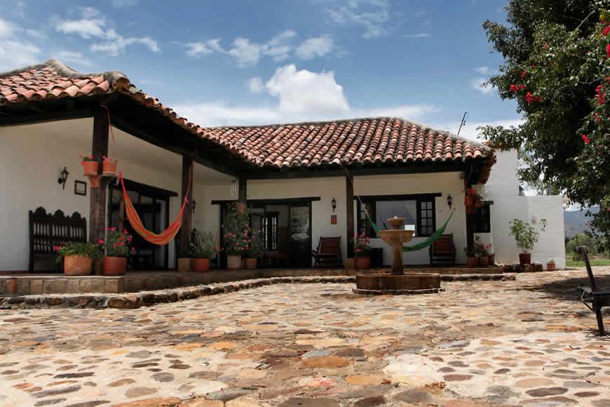 Hamacas casa vieja Villa de Leyva