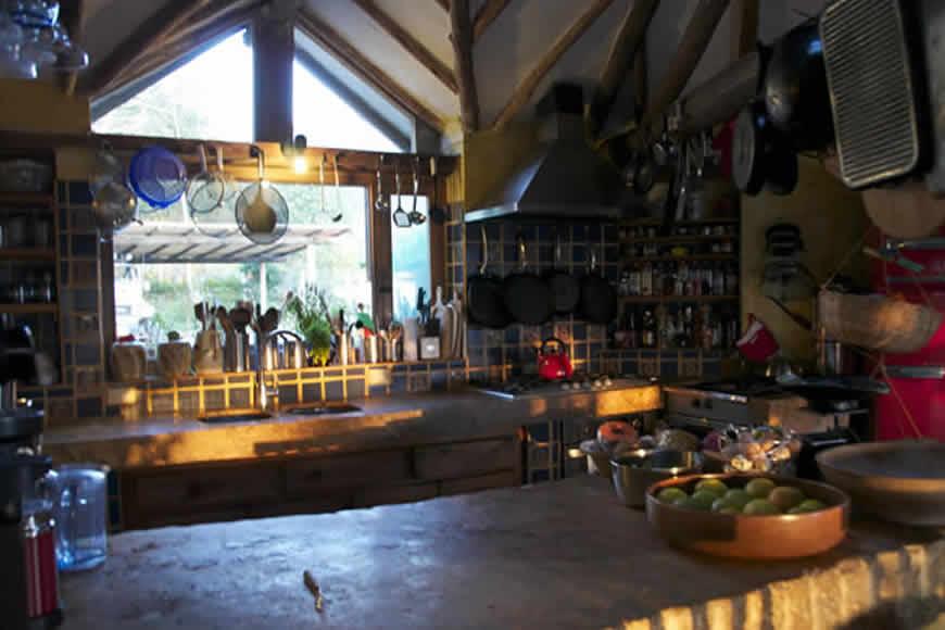 Cocina finca Montecatini