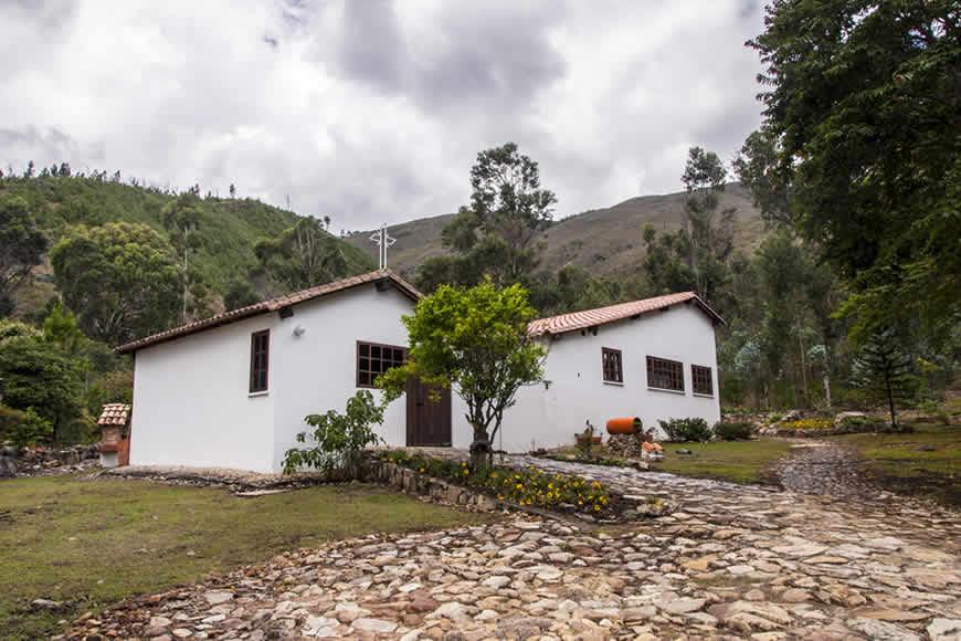 Casa colina de piedra en Villa de Leyva