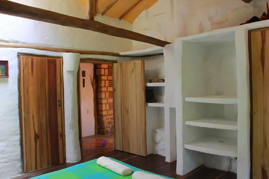Habitación principal casa la colorada en Villa de Leyva