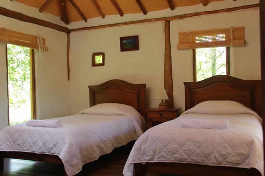 Habitacion 1 casa la colorada en Villa de Leyva