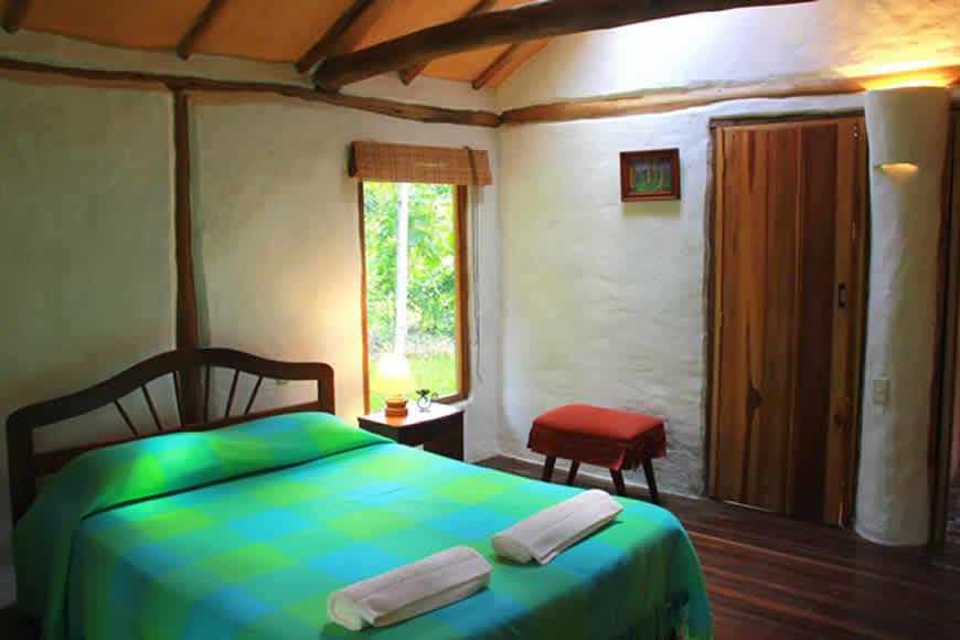 Habitacion principal casa la colorada en Villa de Leyva