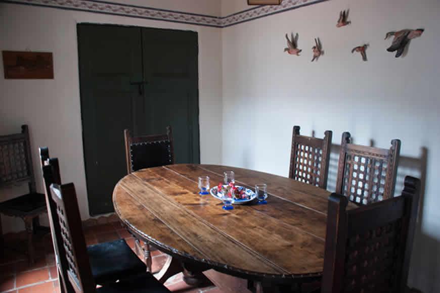 Comedor casa villa diego en Villa de Leyva