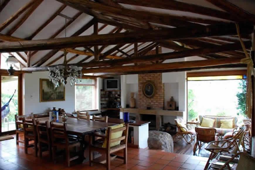 Sala comedor finca Montecatini