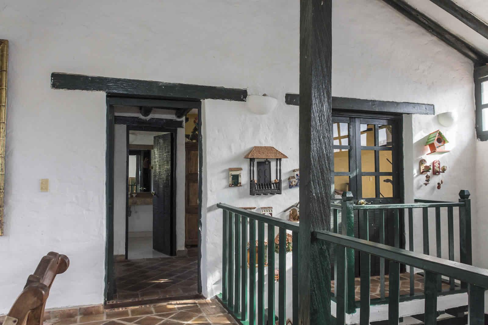 Entrada habitación principal casa tamoe villa de leyva