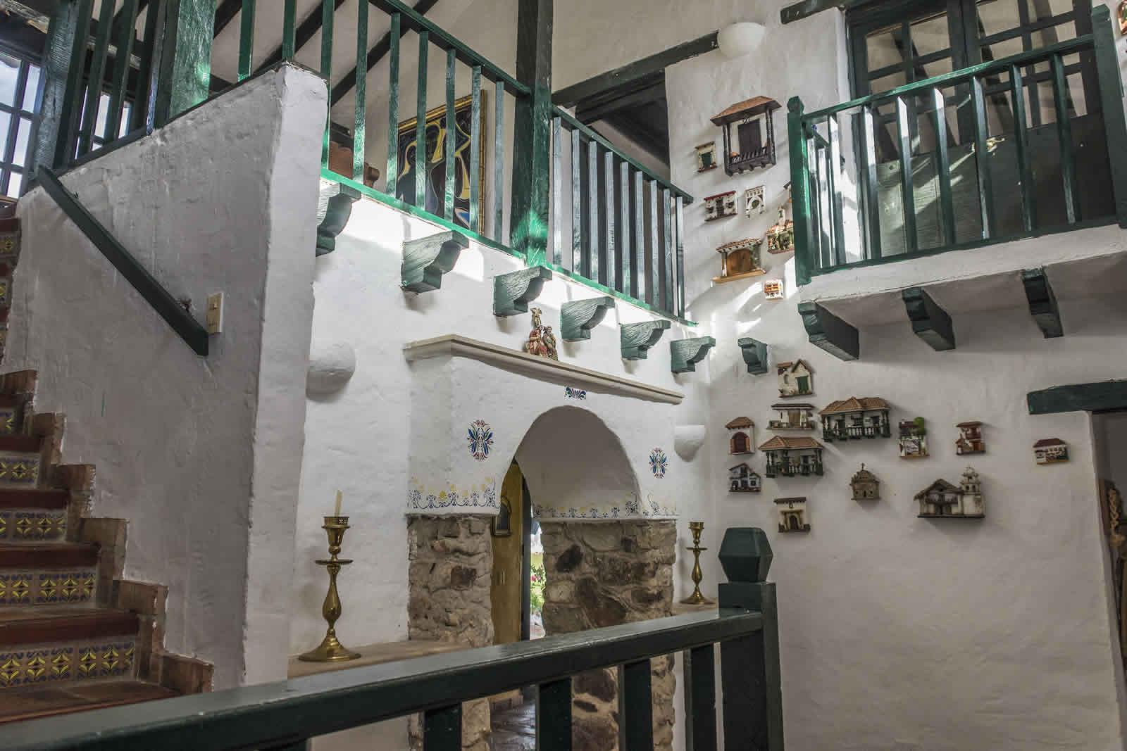 Escaleras casa tamoe villa de leyva