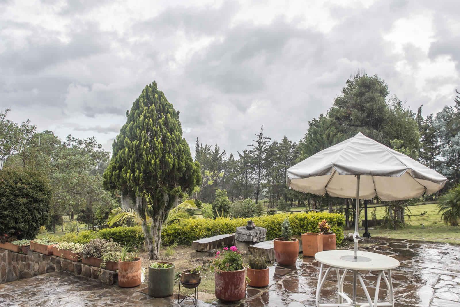 Exteriores casa El Pino en Villa de Leyva