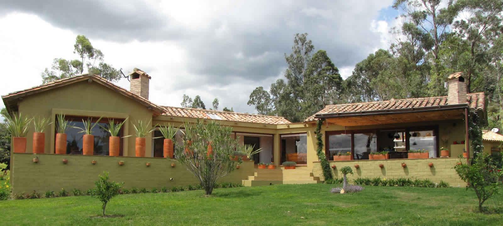 Fachada casa del viento en Villa de Leyva