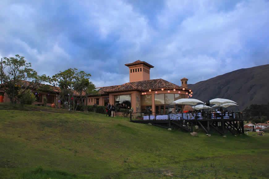 Exteriores casa Furachagua en Villa de Leyva