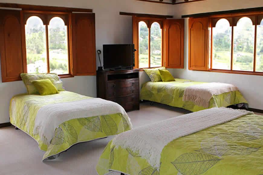 Habitación casa furachagua en Villa de Leyva