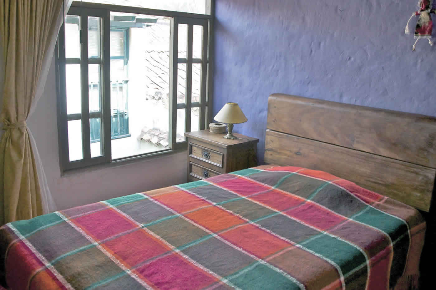 habitación 2 casa de los castillo en Villa de Leyva