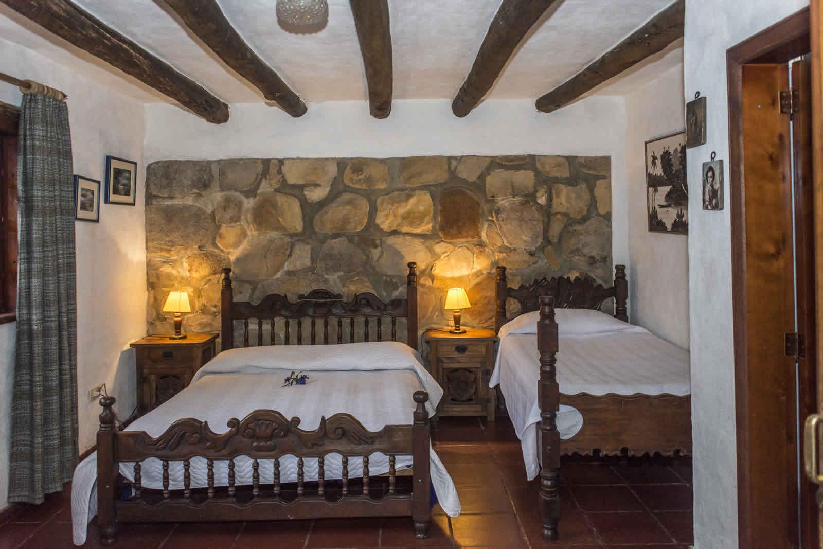 Habitación 2 casa El Pino en Villa de Leyva