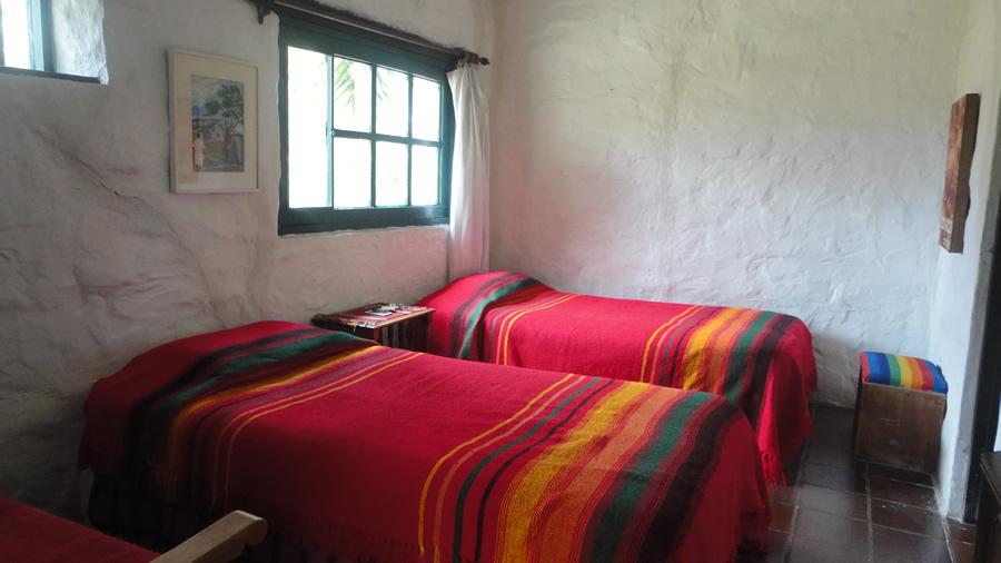 Habitación 2 casa La Rupa en Villa de Leyva