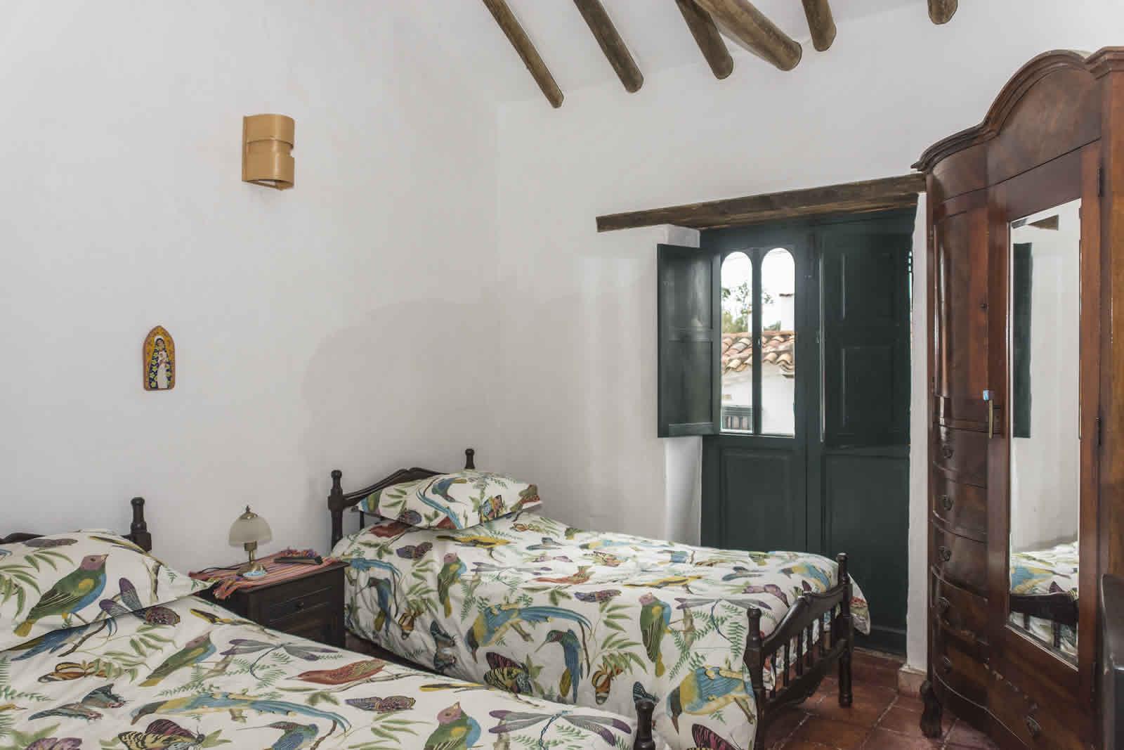 habitación 2 casa Shonsua en Villa de Leyva