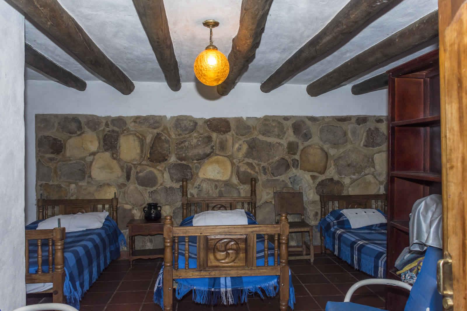 Habitación 3 casa El Pino en Villa de Leyva