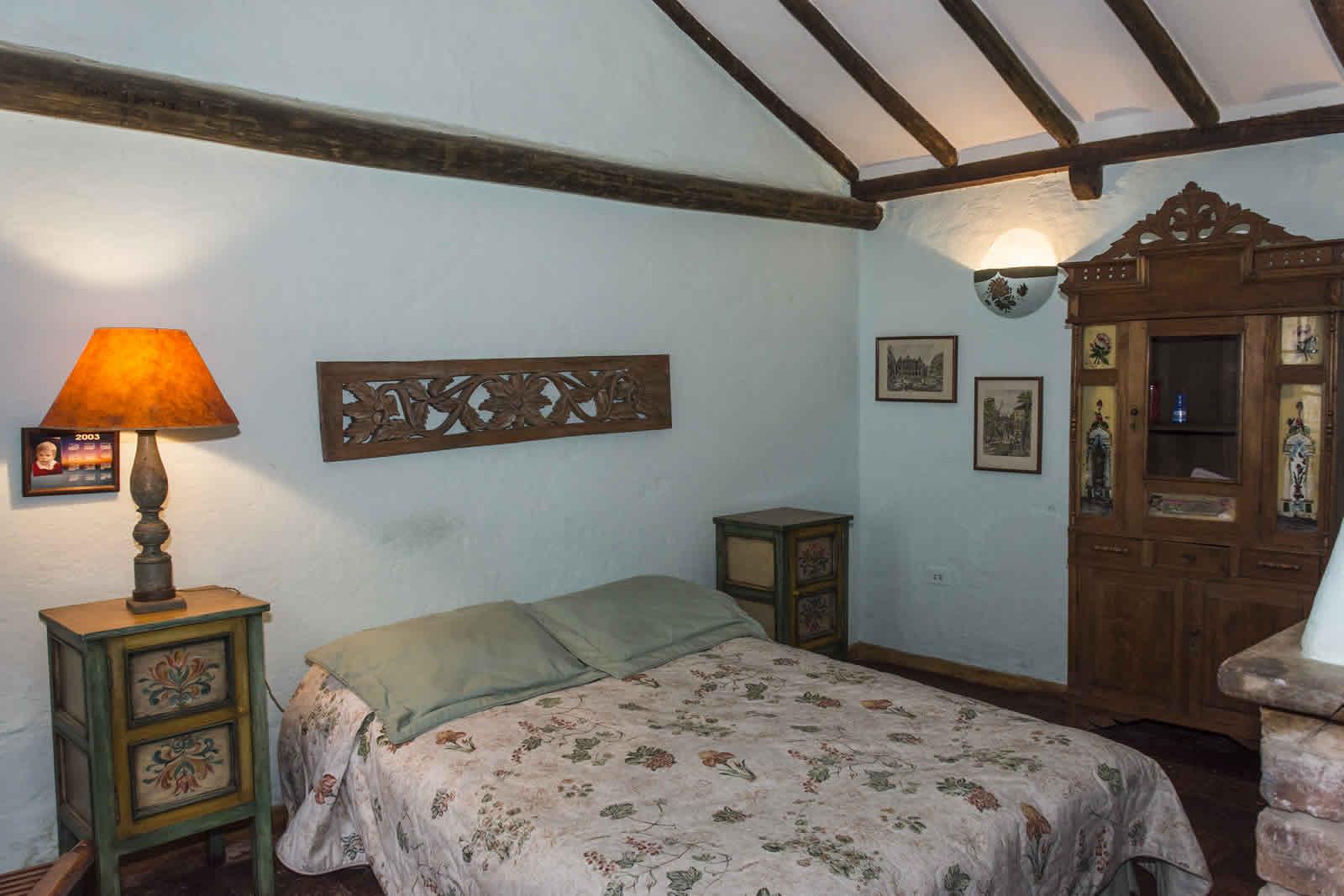 Habitación 3 casa oasis para alquiler en Villa de Leyva