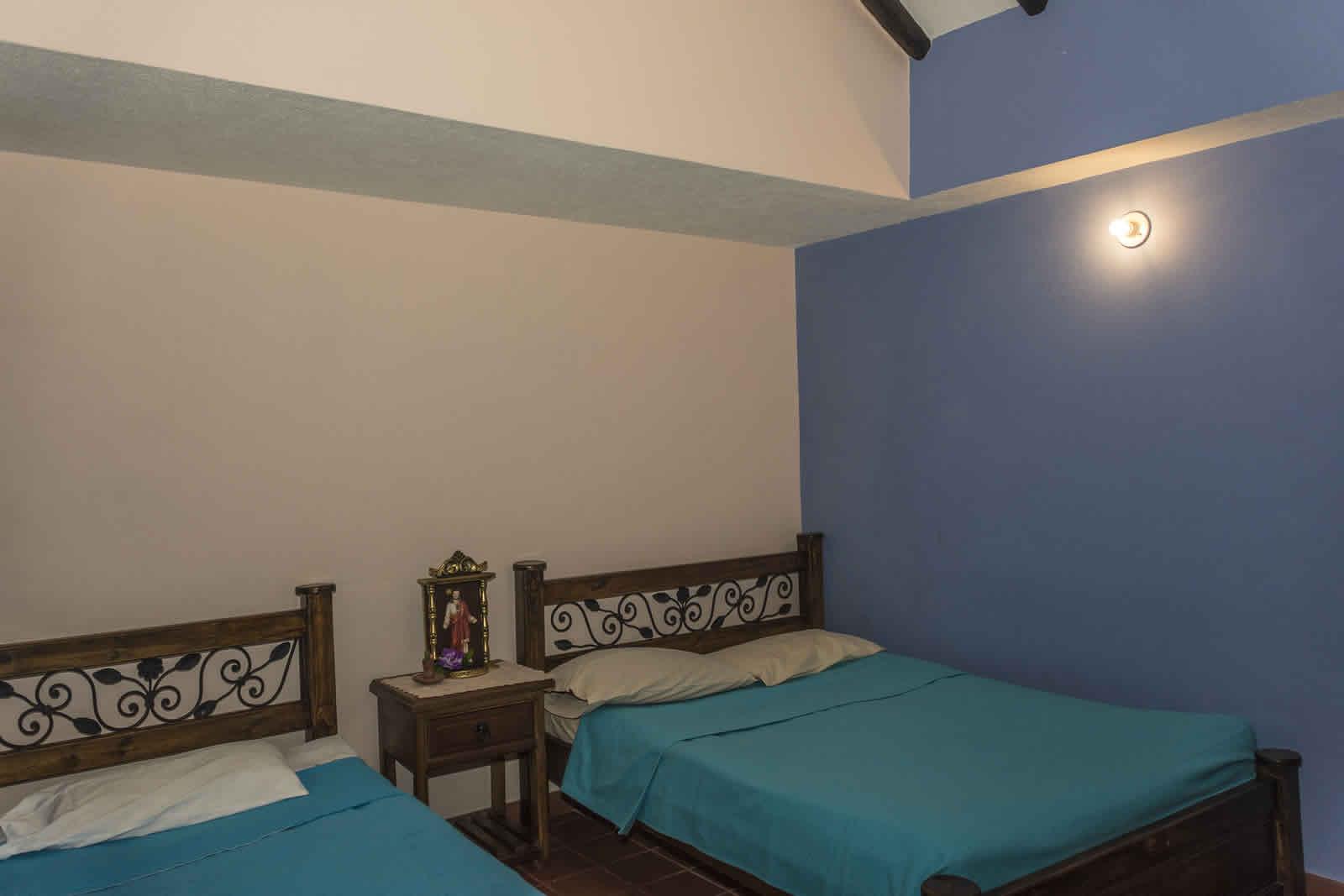 Habitación 6 casa rosa Villa de Leyva