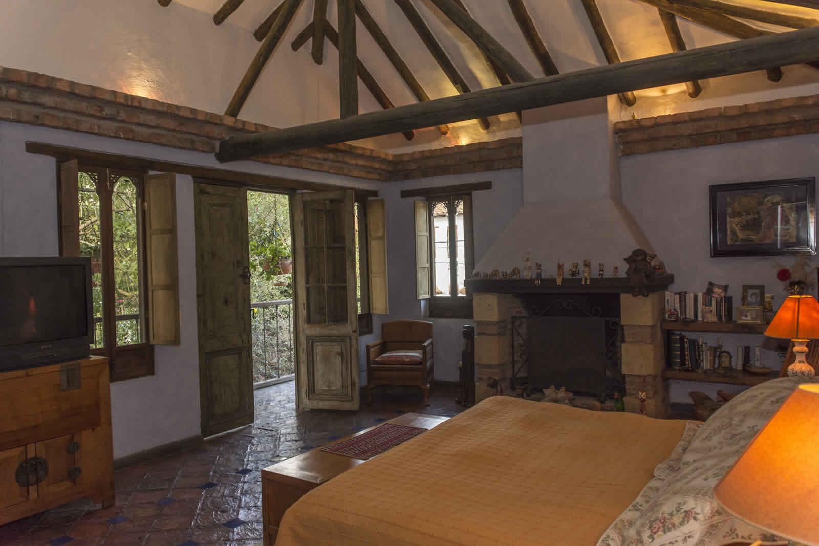 Habitación pricipal casa oasis para alquiler en Villa de Leyva