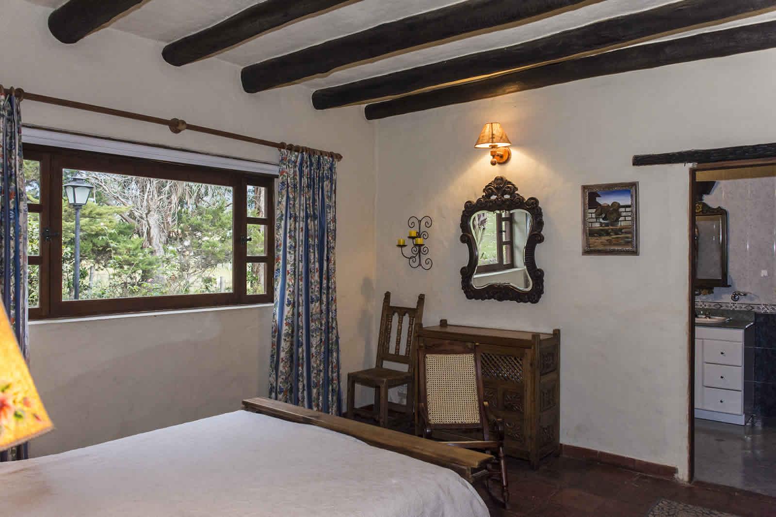 Habitación Principal casa El Pino en Villa de Leyva