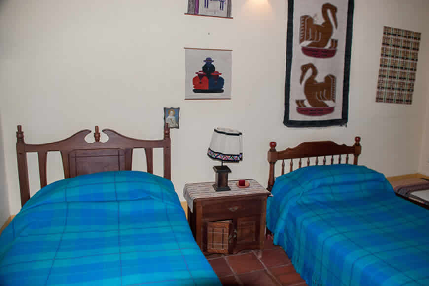 Habitación 2 casa villa diego en Villa de Leyva