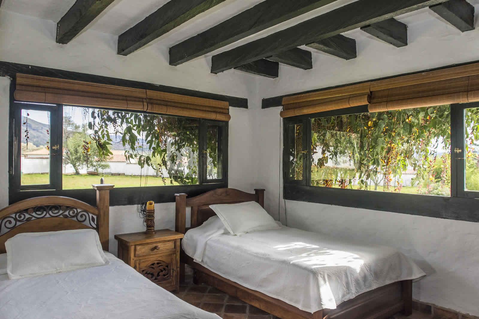 Habitación 2 casa tamoe villa de leyva