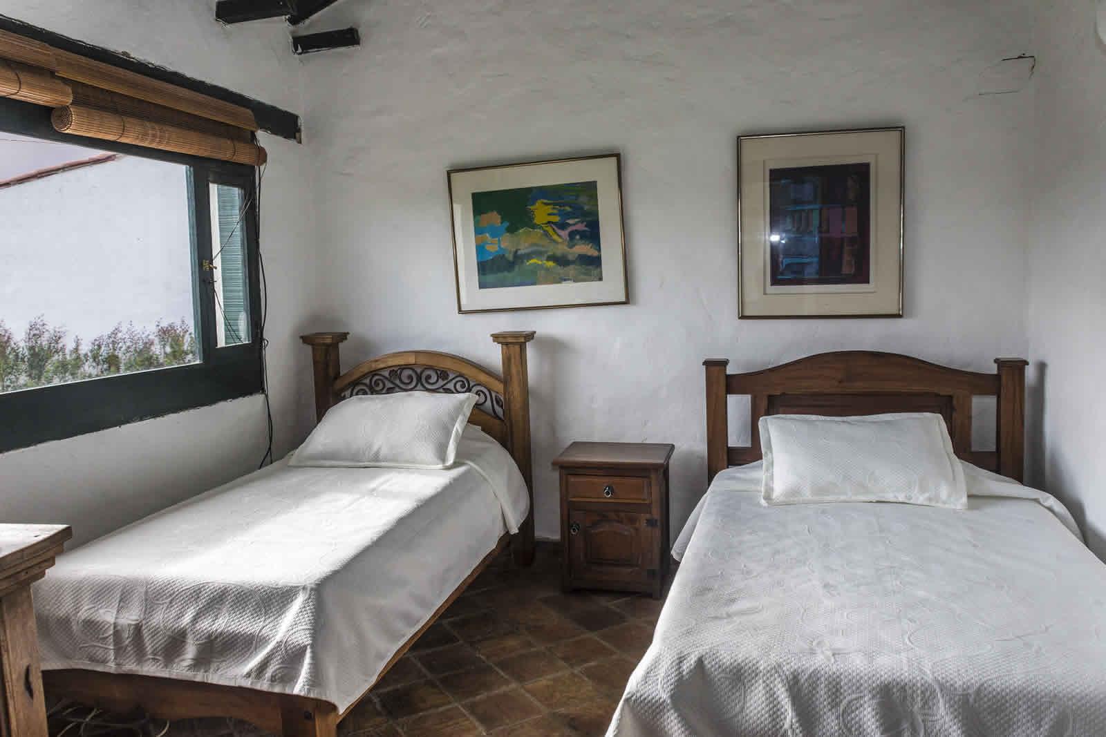 Habitación 3 casa tamoe en villa de leyva